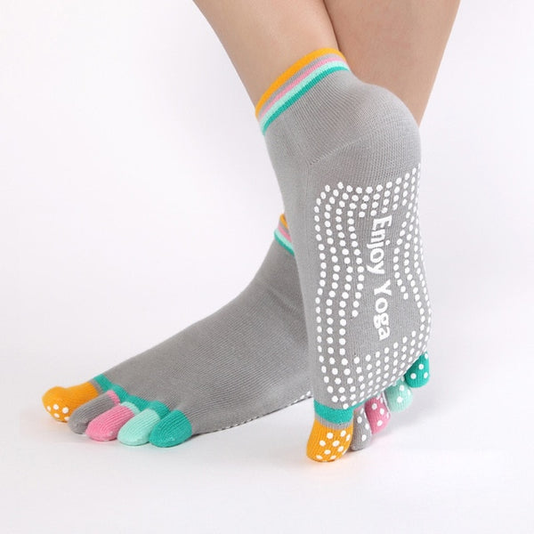 Colorful Yoga Socks