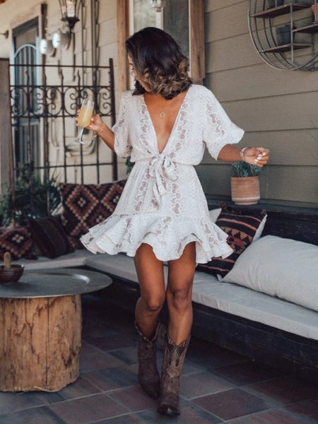 chiffon snake print long boho dress
