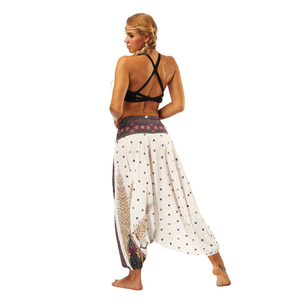 Harem Pants Women's Ladies Casual Summer Loose Trousers
