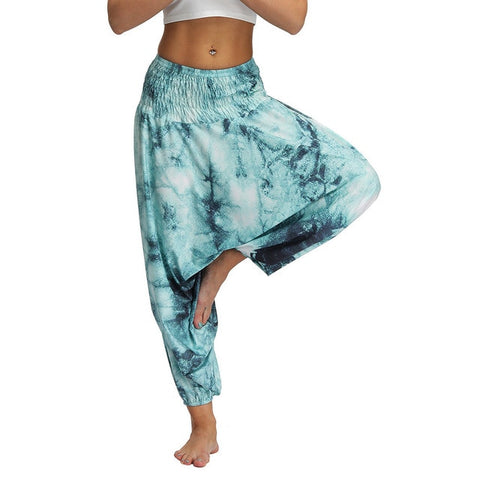 Casual Harem Boho Loose Hippy High Waist Pants
