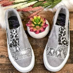 2020 Hot Sales women canvas fabric flats shoes casual loafers