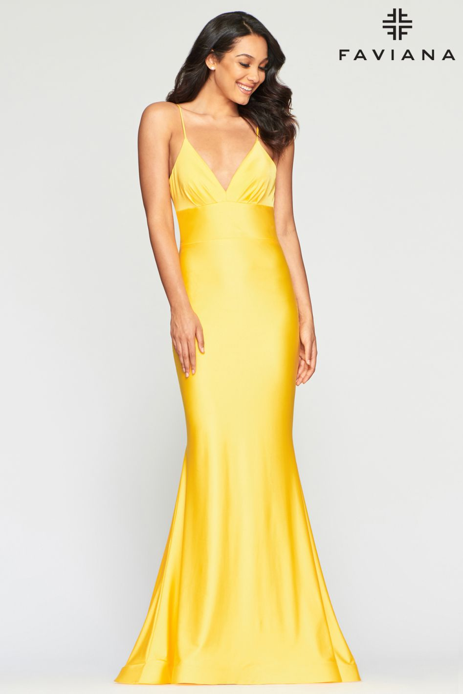 FAVIANA PROM DRESS #s10458