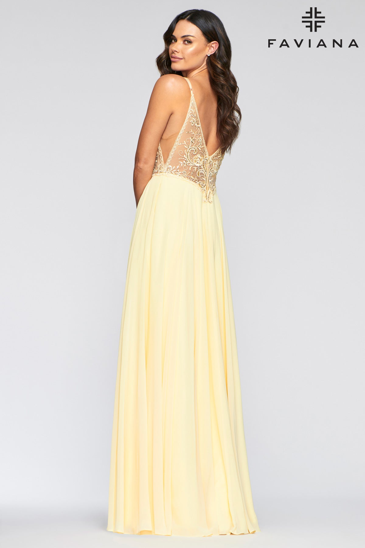 FAVIANA PROM DRESS #s10431