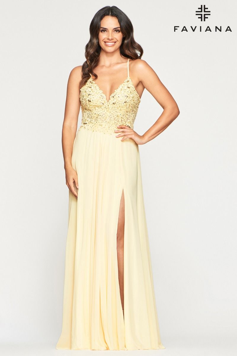 FAVIANA PROM DRESS #10005