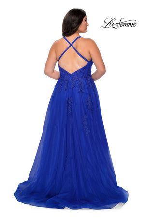 LAFEMME PROM DRESS #29021