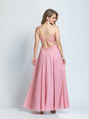 DAVE AND JOHNNY PROM DRESS #9354