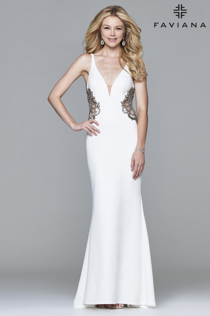 FAVIANA PROM DRESS #s7916