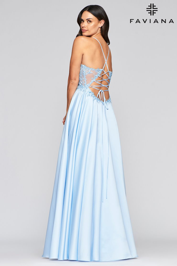 FAVIANA PROM DRESS #s10253