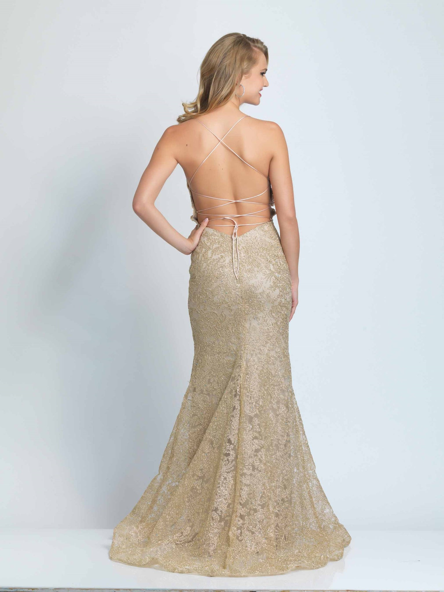 DAVE AND JOHNNY PROM DRESS #9303