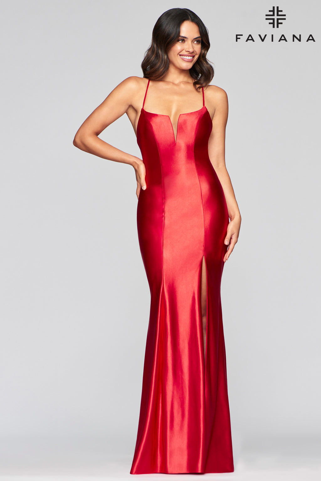 FAVIANA PROM DRESS #s10457