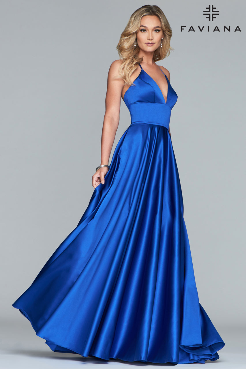 FAVIANA PROM DRESS #s10252