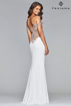 FAVIANA PROM DRESS #s10001