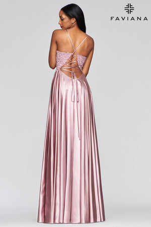 FAVIANA PROM DRESS #S10400