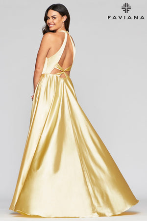 FAVIANA PROM DRESS #s10403