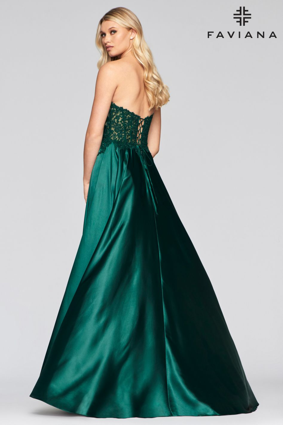 FAVIANA PROM DRESS #s10430