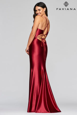 FAVIANA PROM DRESS #s10409
