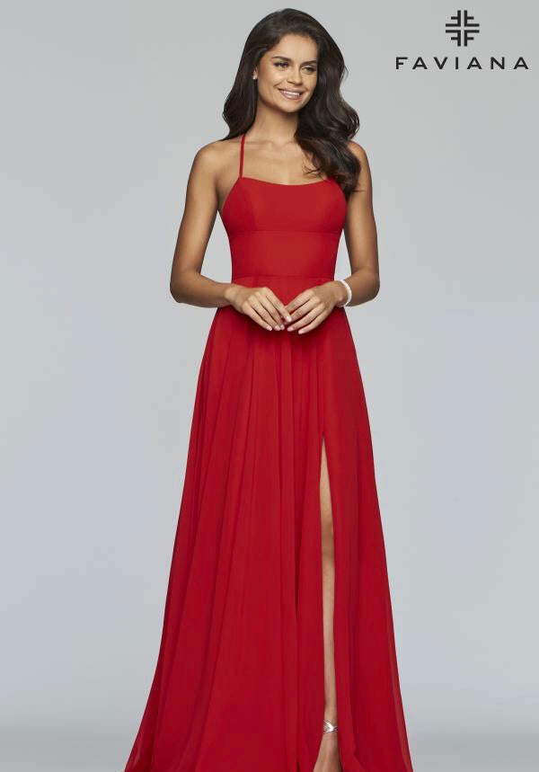FAVIANA PROM DRESS #s10233