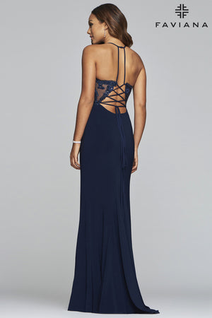 FAVIANA PROM DRESS #s10273