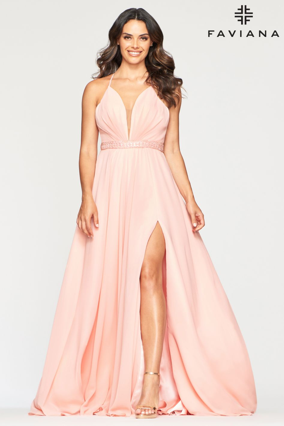 FAVIANA PROM DRESS #s10435