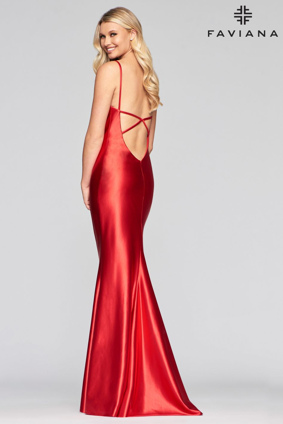 FAVIANA PROM DRESS #s10411
