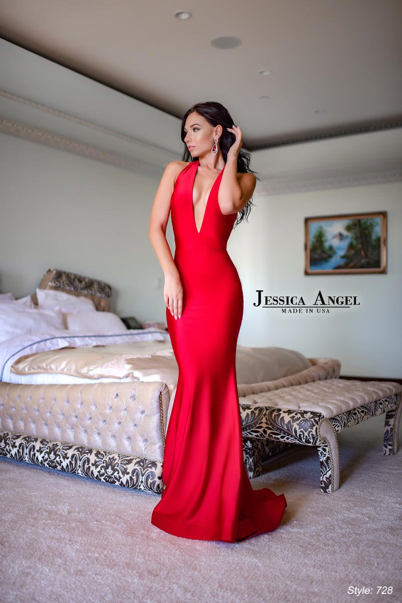 JESSICA ANGEL PROM DRESS #728