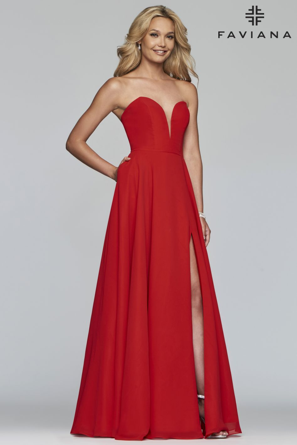 FAVIANA PROM DRESS #s10232
