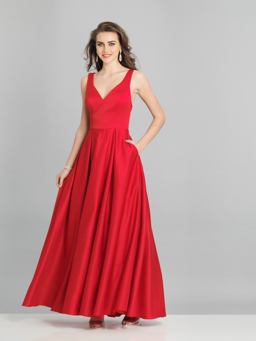 DAVE AND JOHNNY PROM DRESS #8284
