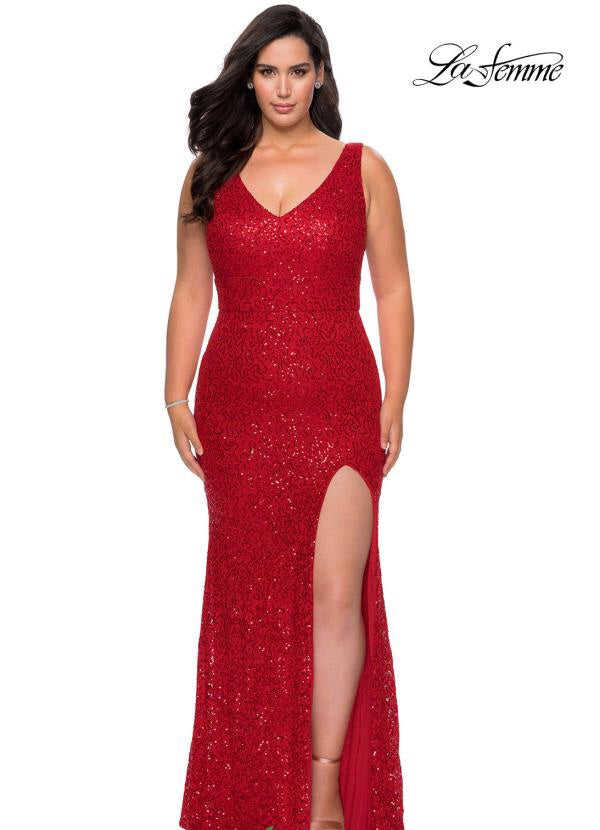 LAFEMME PROM DRESS #29001