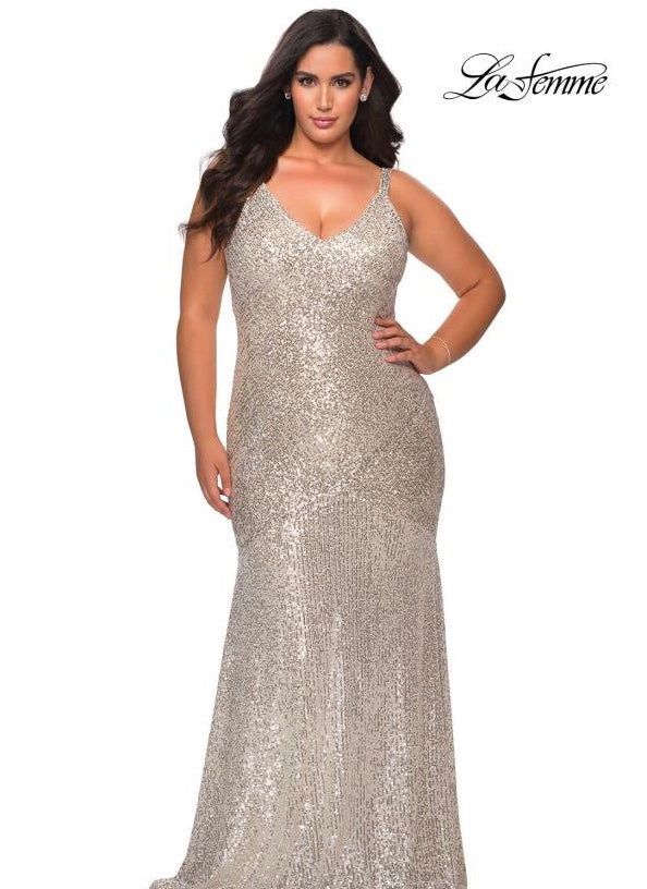 LAFEMME PROM DRESS #29006