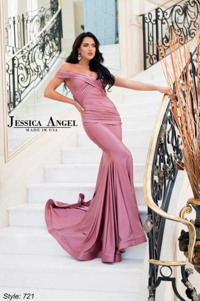 JESSICA ANGEL PROM DRESS #721