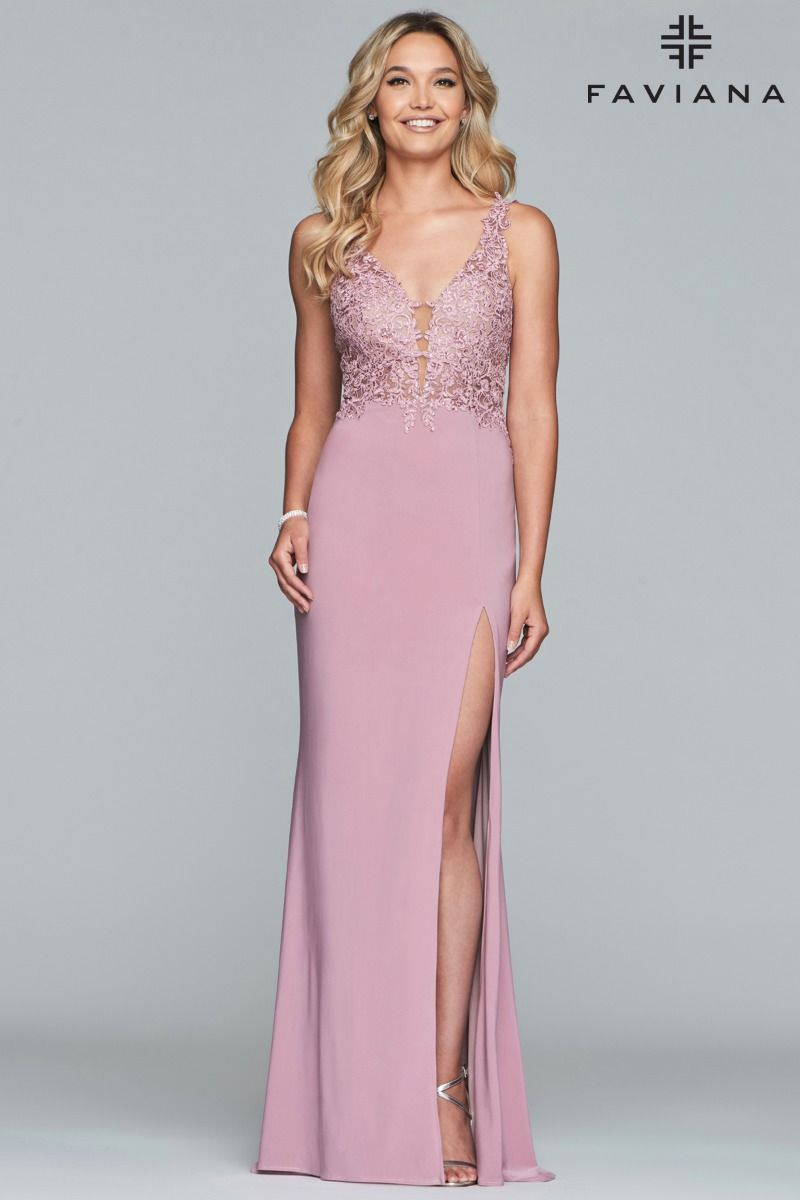 FAVIANA PROM DRESS #s10204