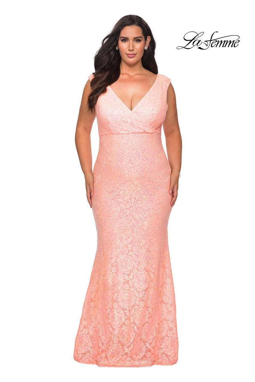 LAFEMME PROM DRESS #28837