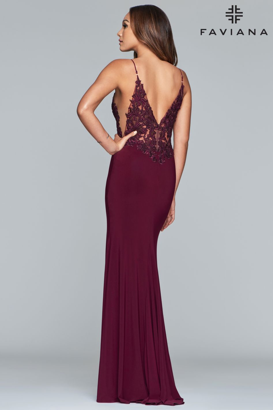 FAVIANA PROM DRESS #s10275