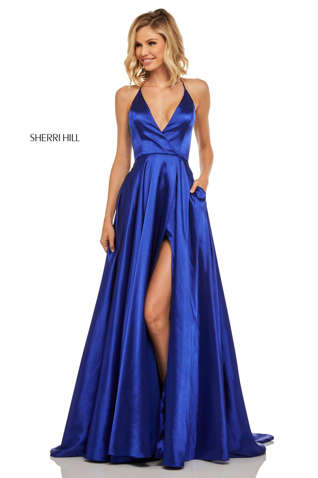 SHERRI HILL PROM DRESS #52921