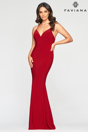 FAVIANA PROM DRESS #s10420
