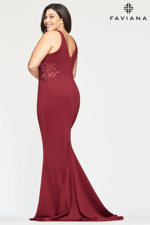 FAVIANA PROM DRESS #9492