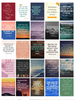 Inspirational quotes sticker ( 2 pages )