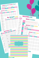 fitness planner printable (25+ pages)