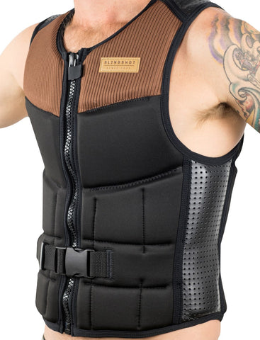 Impact Vest Wake, Brown (Medium) - Slingshot 2017