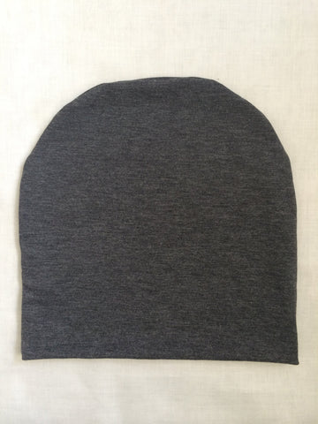 Charcoal Slouchy Beanie