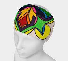 Load image into Gallery viewer, Fashionable Vibrant Colored Headband. These headbands are so versatile! Scrunch it or fold it over to use as a headband, wear it like a bandanna, or as a face warmer while hitting the slopes or tearing down the bike path!
