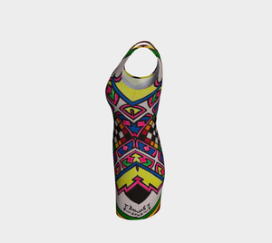Modern Colorful Bodycon Dress