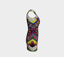 Load image into Gallery viewer, Modern Colorful Bodycon Dress
