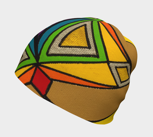 Fashionable Graphic Print Beanie