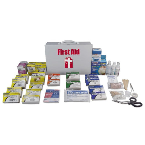 Metal First Aid Cabinet (100 person)-First Aid Kit-Mayday-MASKLaLa