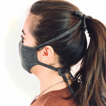 Load image into Gallery viewer, 3 Layer Earloop Face Mask (100 Pieces)-Bulk-MASKlala-Charcoal 95/5-MASKLaLa