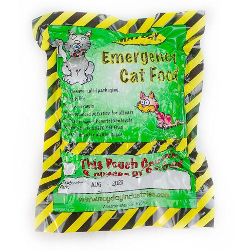 Cat Emergency Survival Food (15 pack)-Emergency Kit Refill-Mayday-MASKLaLa