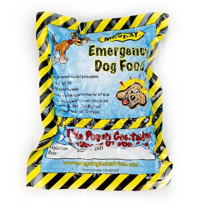 Dog Emergency Survival Food (15 Pack)-Emergency Kit Refill-Mayday-MASKLaLa