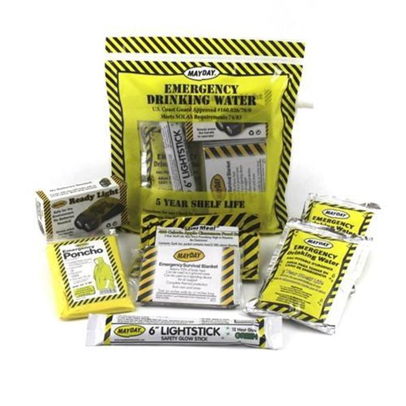 Emergency Comfort Kit 8 Piece [6 Pack]-Emergency Kit-Mayday-MASKLaLa