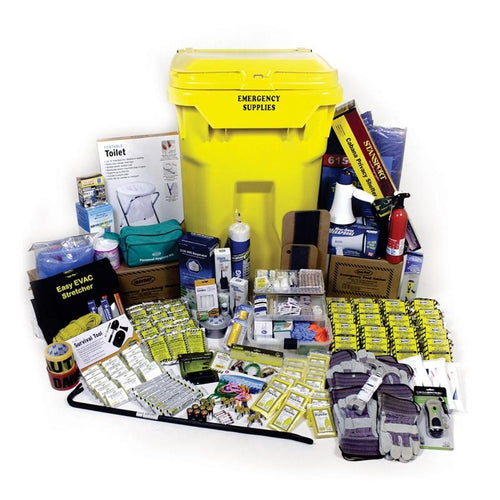 Emergency Kit on Wheels - Deluxe (20 Person)-Emergency Kit-Mayday-MASKLaLa